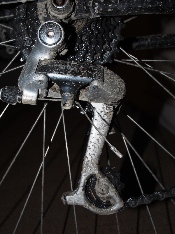 Dirty Rear Derailleur: OLYMPUS DIGITAL CAMERA
