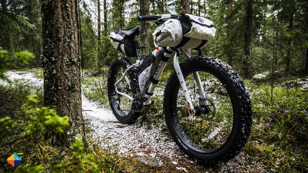 Salsa Mukluk in Bikepacking Mode