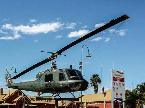 Iriquois helicopter