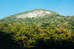 The mountains surrounding the Black Rock Lodge - San Ignacio, Belize