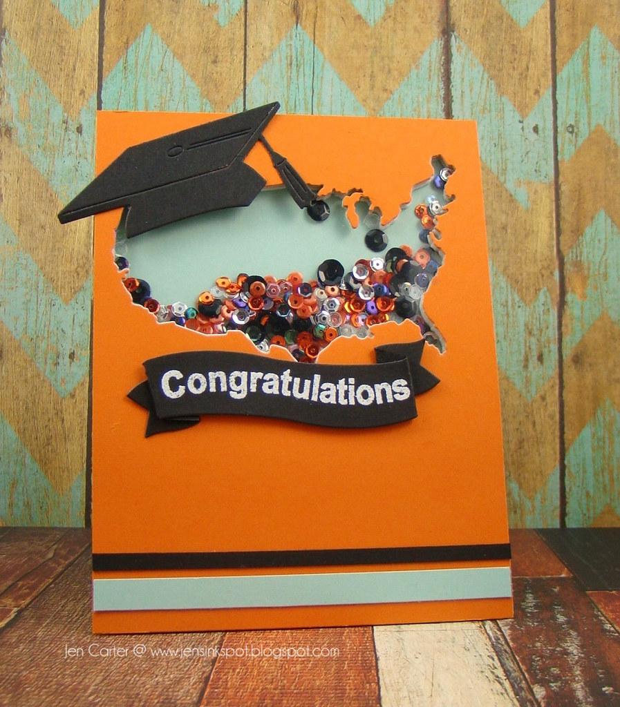 Jen Carter USA Graduation