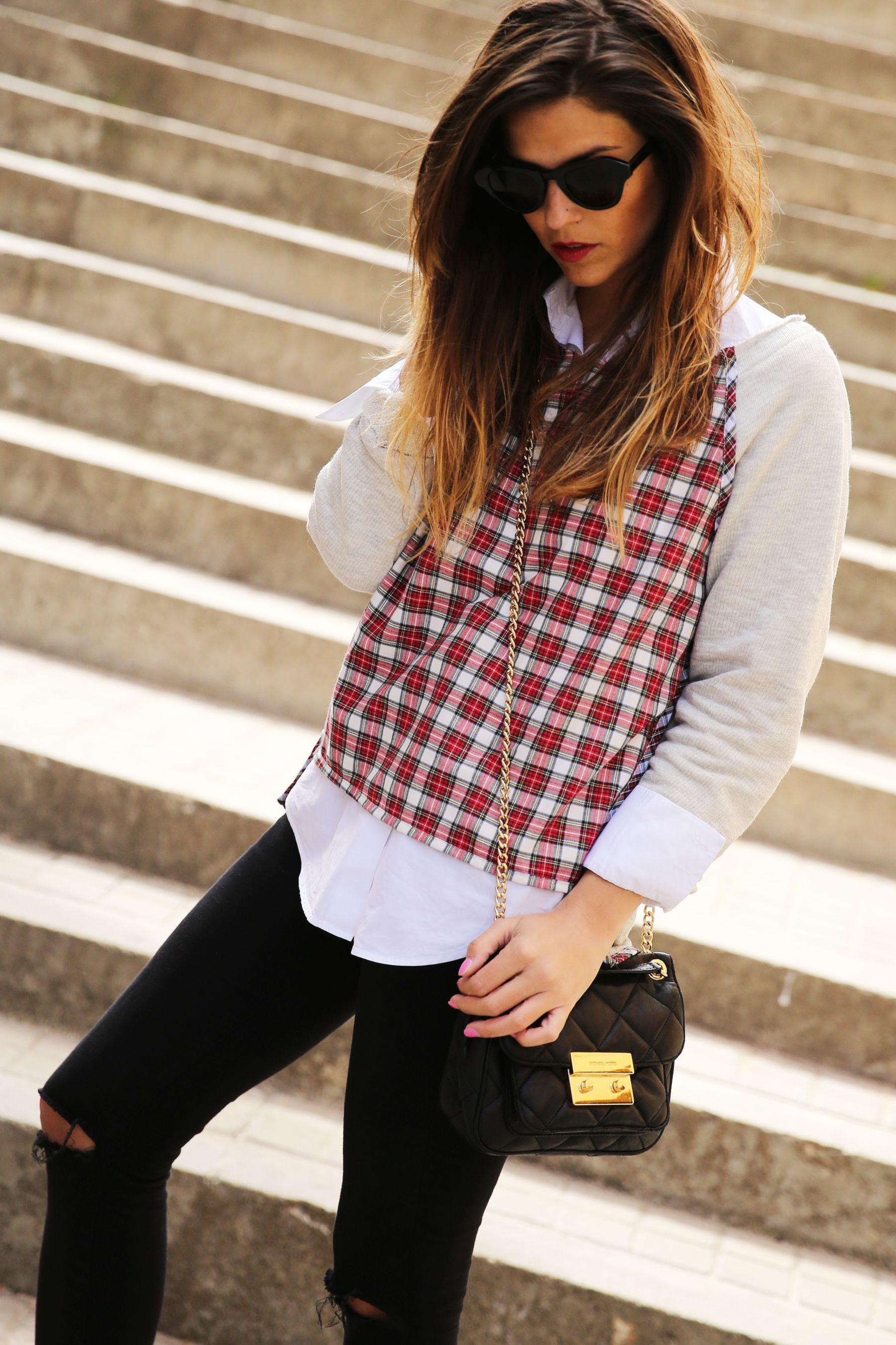 trendy_taste-look-outfit-street_style-ootd-blog-blogger-fashion-spain-moda-españa-steve-madden-plaid-shirt-camisa-cuadros-skinny-jeans-pitillos-negros-6