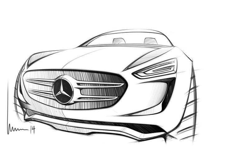 Нарисованный Mercedes-Benz G-Code