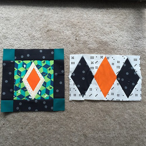 Sneak peek of April blocks for #nurturecircle #dogoodstitches - blog post coming tonight.