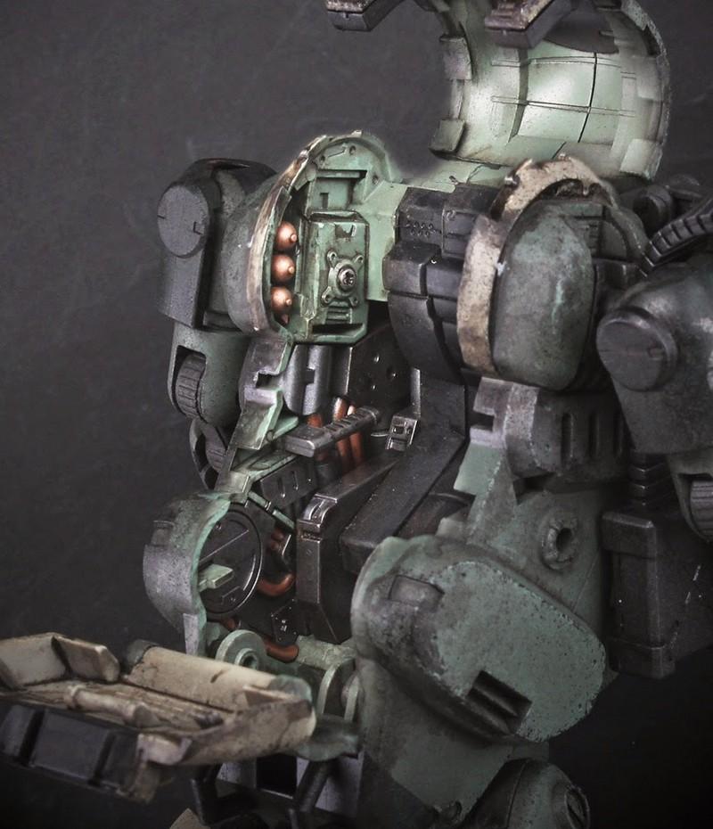 新機體!《酸雨戰爭》推出首款人形機甲「Laurel」(海軍陸戰隊配色)