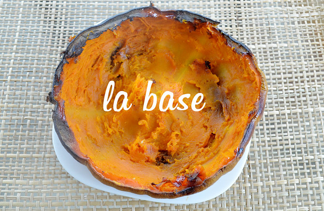 base para mousse de calabaza y cacao paleo