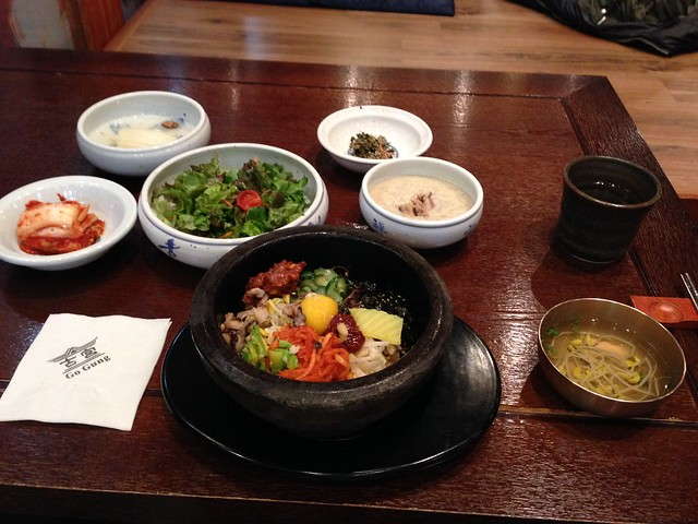 Hot-stone bibimbap