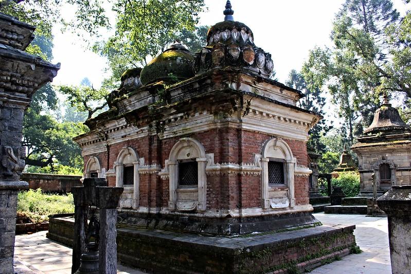 Stupas to gods