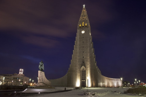Hallgrimskirkja, Reykjavik, Iceland.