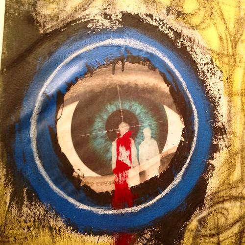Jamel Robinson painting (detail)