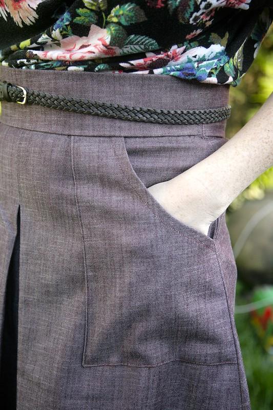 Lisette Butterick 6182 Skirt