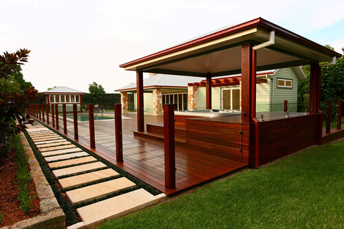 """The """"Gallery"""" tab showcases a wide variety of interior and exterior projects"""