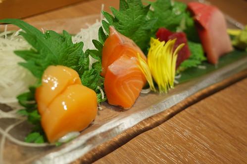 sashimi 鮮魚4種盛り合わせ