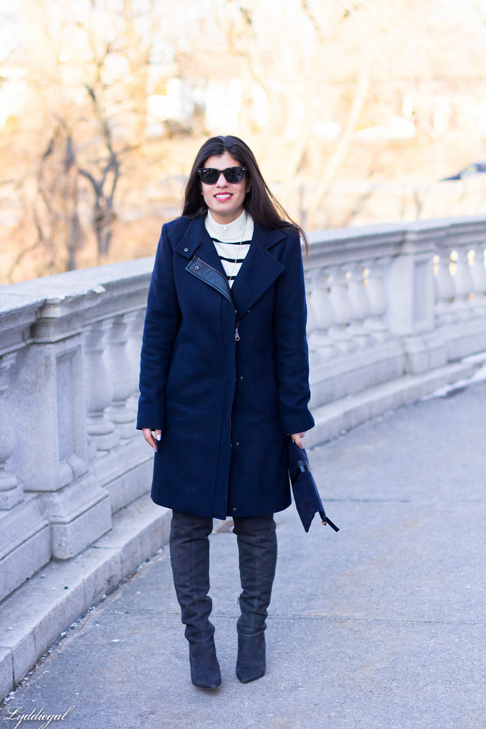 striped sweater, grey OTK boots, navy coat.jpg
