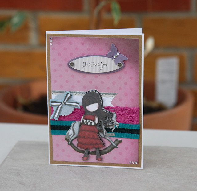 Gorjuss just for you card by StickerKitten
