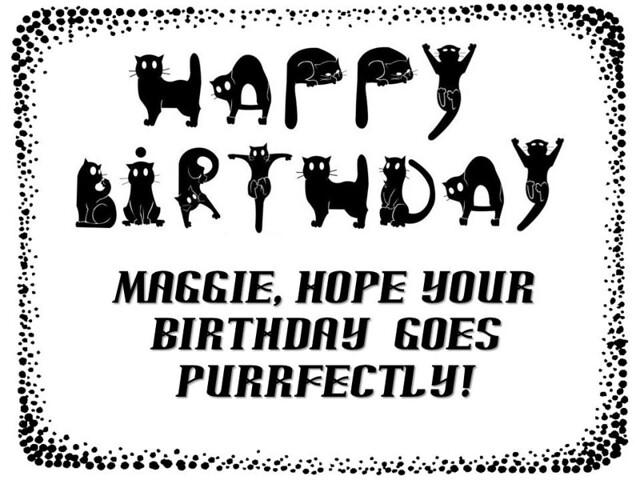 Maggie's Birthday