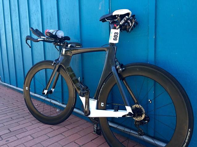 cervelo P3, half-ironman bike