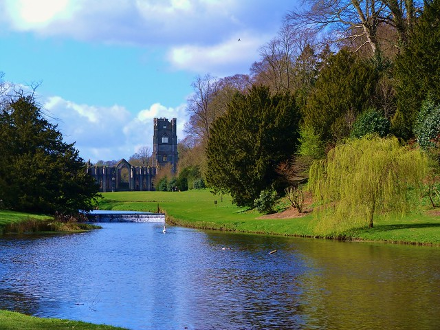 Abadía de Fountains y Studley Royal Park (Yorkshire)