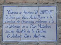 Photo of White plaque № 39304