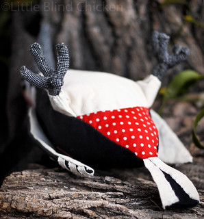 Stuffed woodpecker 3