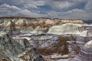 Blue Mesa - Painted Desert