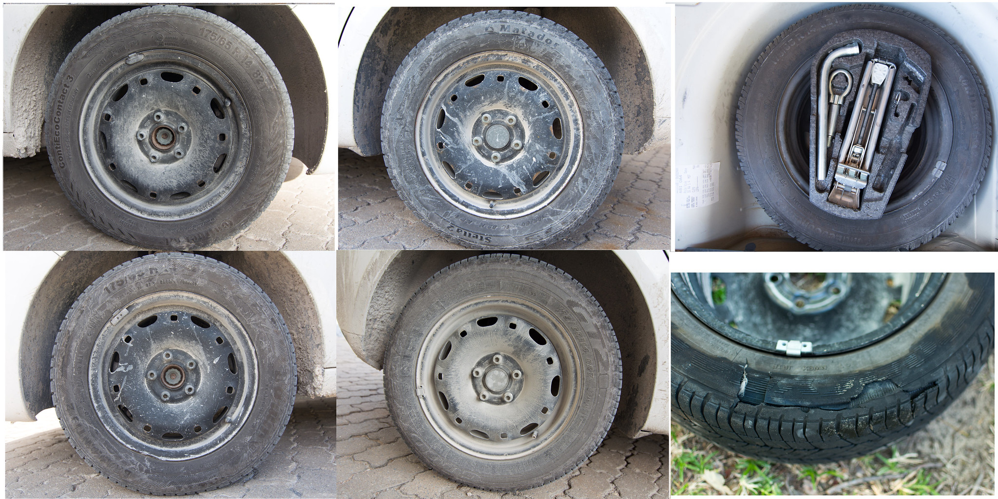 Different Brand Tires On A Rear Wheel Drive Car