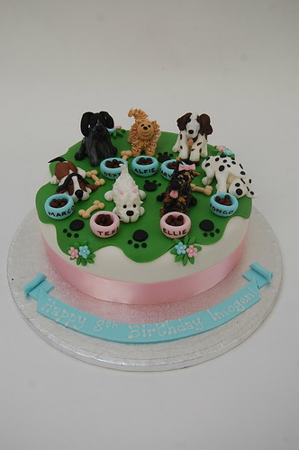 Special Design For A Little Girl Who Just Wants Her Own Puppy The I Want Dog Cake From 80