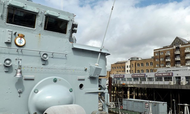 HMS Middleton (1) @ HMS President 25-04-15