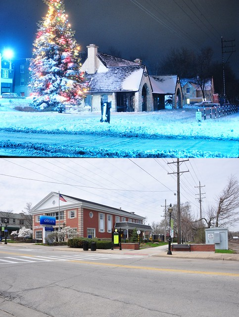 CA&E before Glen Ellyn 1962 and  after 2015