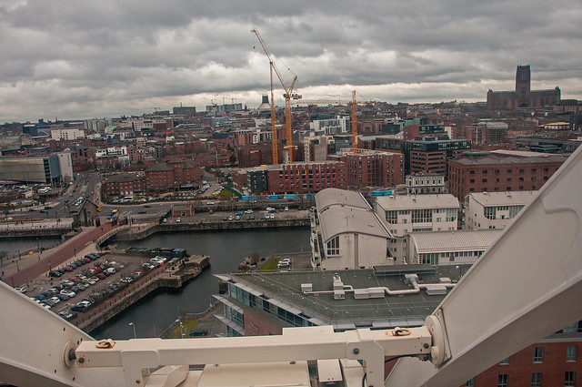View over the Liverpool cityscape