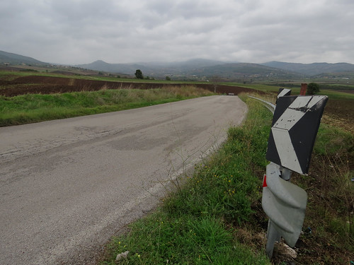On the road to Monticchio