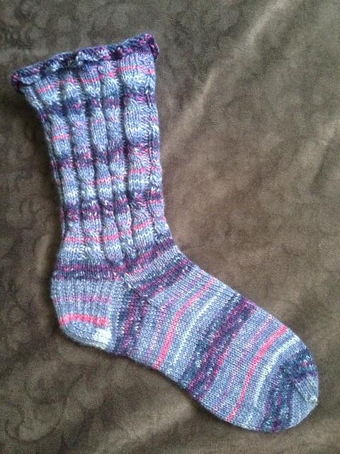 Big Twist Socks