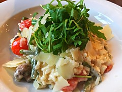 Mushroom risotto at The Park, Teddington