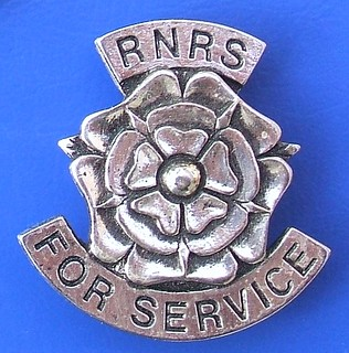 (RNRS) Royal National Rose Society 'For Service' - volunteer's award badge (1980's onwards)