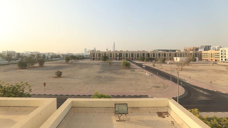 Copthorne Airport Hotel view, Dubai