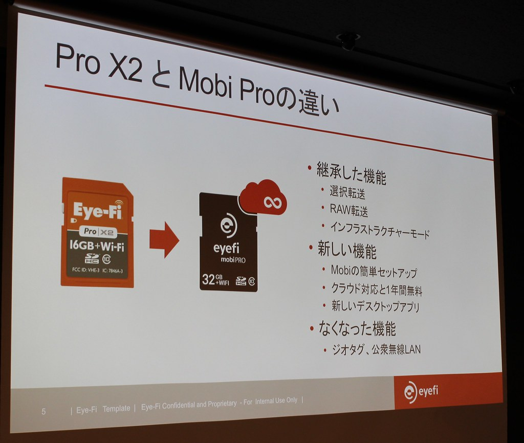 Eyefi Mobi Pro 発表会記念 ブロガーイベント2