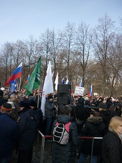 Boris Nemtsov commemorative meeting, Yekaterinburg