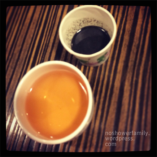 Shengyuan-Tea and Black Sesame Paste