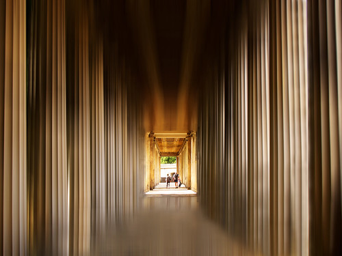 Between Columns in Berlin, Germany