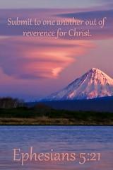 Ephesians 5:21 nlt