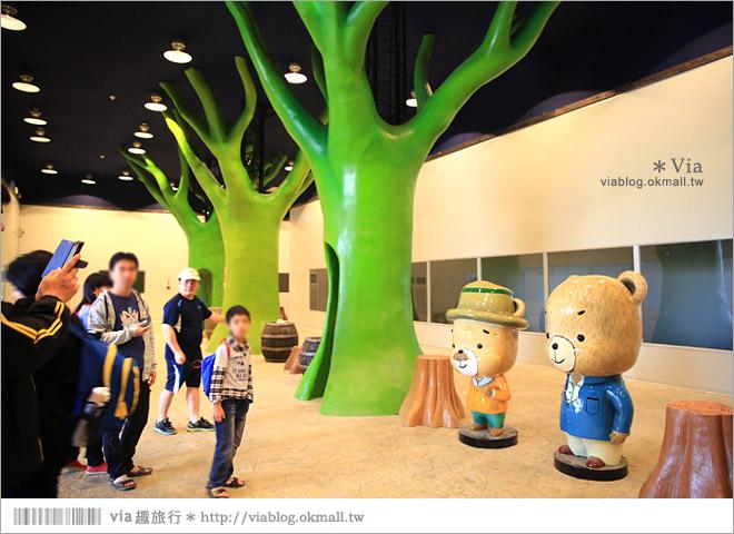 【熊大庄】嘉義民雄熊大庄森林主題園區~新觀光工廠報到!小熊的童話森林真實版25