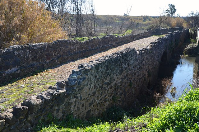 Roman bridge on the road from Forum Traiani to Othoca, 1st century BC - 1st century AD, Tramatza, Sardinia