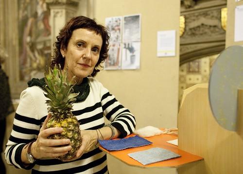 伊卓莎博士(Dr. Carmen Hijosa) Photo via Royal College of Art