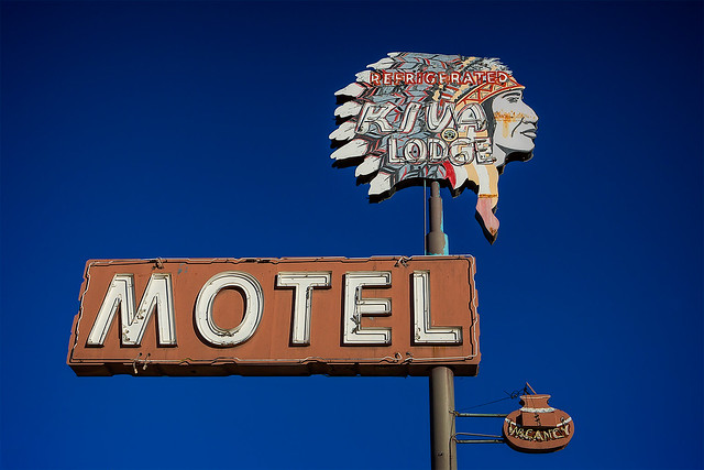 Kiva Lodge Motel - 668 West Main Street, Mesa, Arizona U.S.A. - January 14, 2015