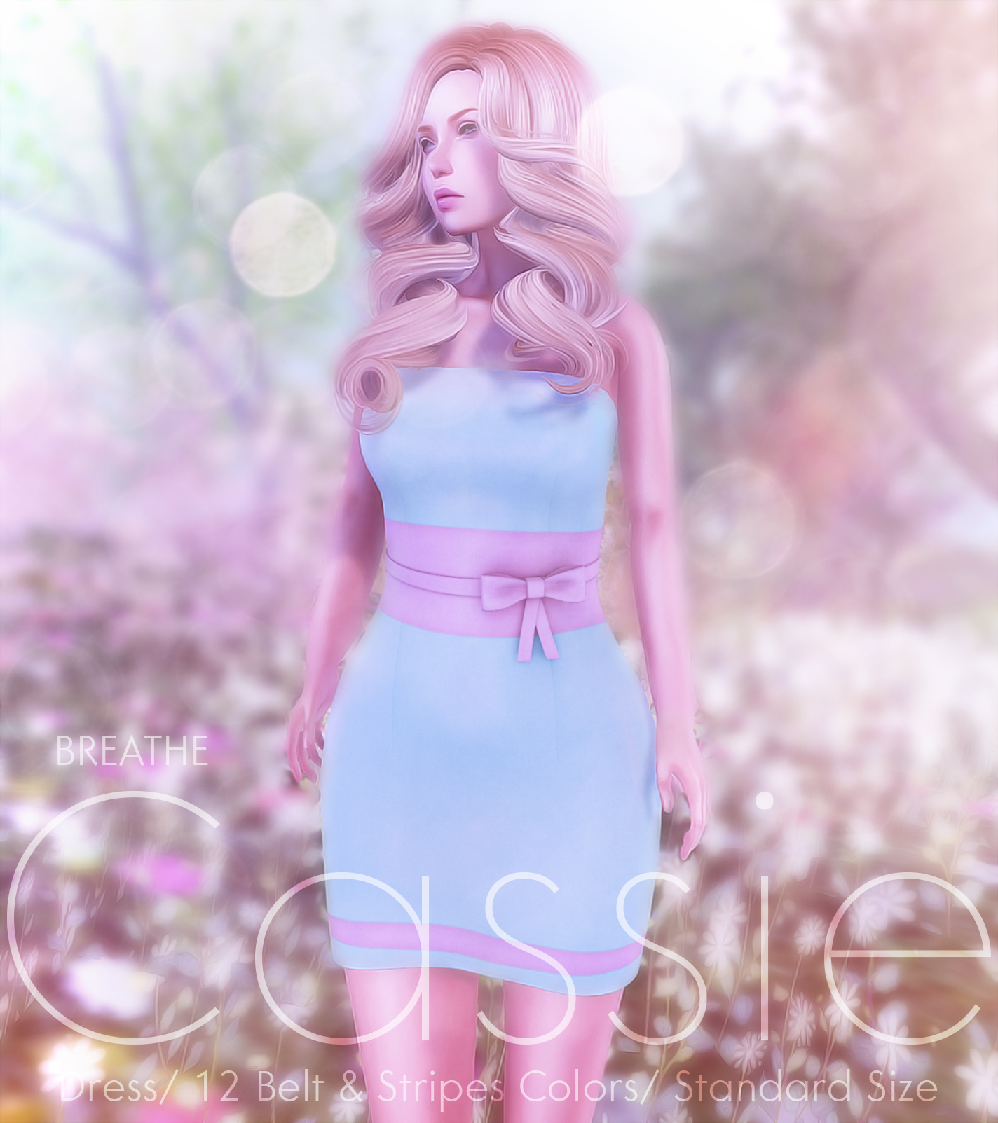[BREATHE]-Cassie Mini Dress-New