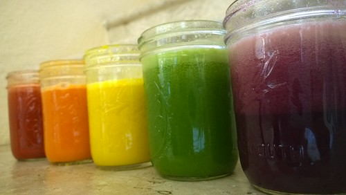 Rainbow Juice Cleanse