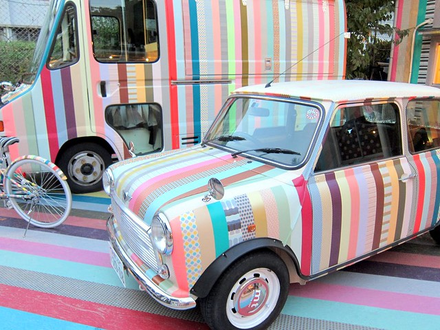 washi tape car