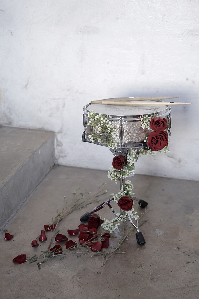 Floral Drum