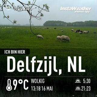 #cachen in den #niederlanden - verrückte Ideen müssen umgesetzt werden! #geocaching #instaweather #instaweatherpro #weather #wx #android #delfzijl #niederlande #day #spring #clouds #afternoon #cold #de