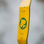 BlackLeaf - Yellow Logo Board